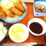 両津ランチは佐渡汽船内のレストラン「よろこんで」で♪